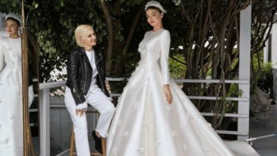 Must Read: See Miranda Kerr's Custom Dior Wedding Dress, Models Have Become Powerful Digital Publishers