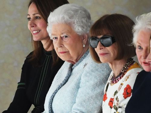 Queen Elizabeth II Just Sat Front Row At A Fashion Show