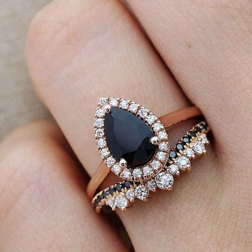 The Unexpected Engagement Ring Stone We're Seeing Everywhere