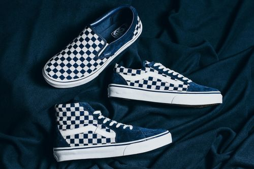 A Closer Look at the Vans Japan Indigo Checkerboard Pack