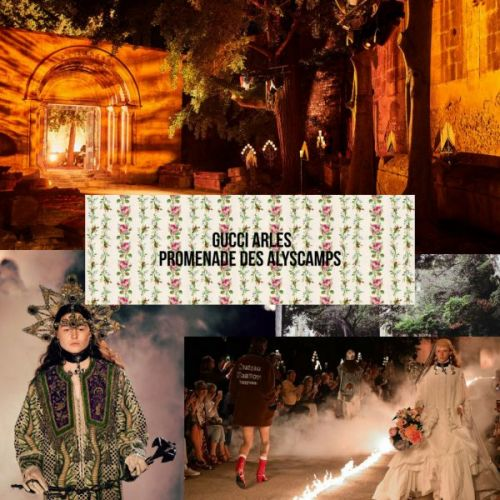 Gucci Cruise 2019 Show in Arles