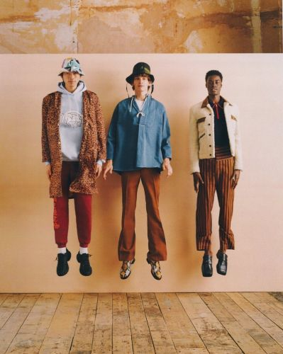 Express Yourself: Hidetatsu, Erik & Babacar Inspire in Styles for MatchesFashion