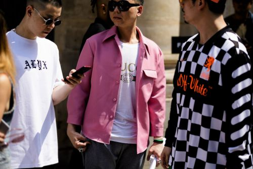 Rich Colors & Bold Branding Pervaded Street Style at Paris Fashion Week SS19