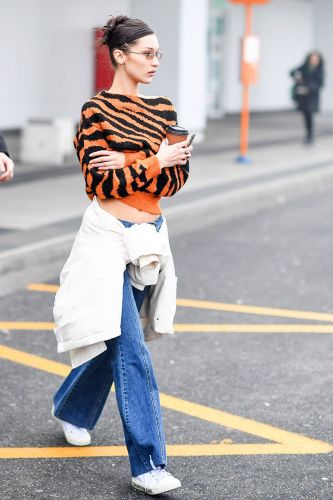 Bella Hadid Just Endorsed the Controversial Denim Trend People Are Dreading