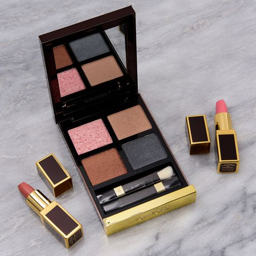 Tom Ford x Nordstrom White Suede Eye & Lip Set Review & Swatches