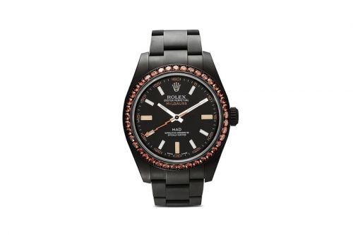 MAD Paris Rework the Iconic Rolex Milgauss in Matte Black