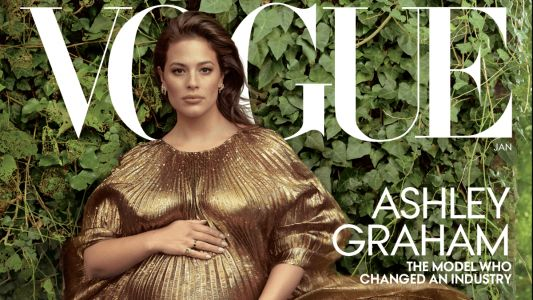 Ashley Graham Lands Her First Solo 'Vogue' U.S. Cover