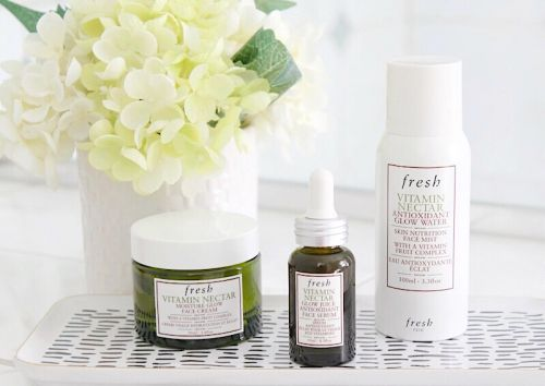 Get glowing with Fresh® Vitamin Nectar Collection!