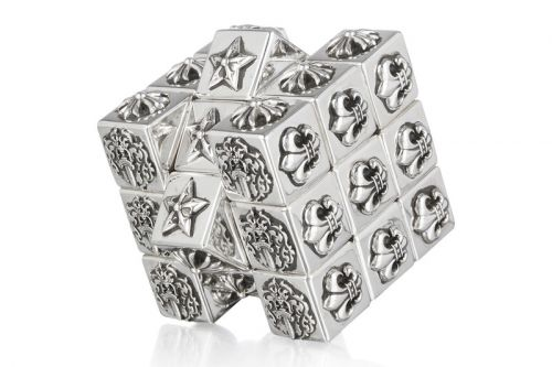 Chrome Hearts Releases Its Take on a Rubik's Cube Online