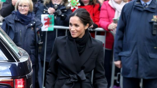 Meghan Markle Wore a Thing: Stella McCartney Coat Edition