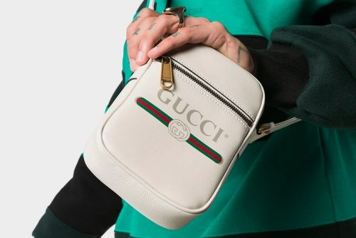Gucci Drops a Bike Courier-Inspired Messenger Bag
