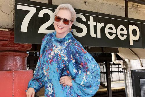 Meryl Streep gets special NYC birthday surprise: A subway stop