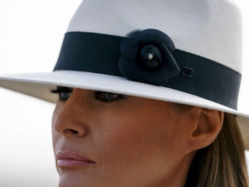 """Melania Trump Explained Her """"I Don't Care"""" Jacket & It Isn't About Immigration"""