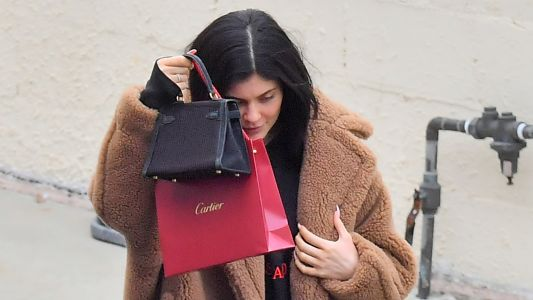 Kylie Jenner Makes First Public Appearance Since Cheating Scandal and She's Out Shopping