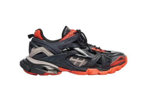 Balenciaga Track.2 Drops In Sporty Black, Red and Grey