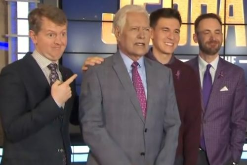 Alex Trebek keeps fighting with 'Jeopardy! Greatest of All Time' champs