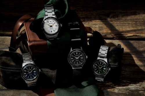 Seiko Turns Back the Clock for Presage Style60's Collection