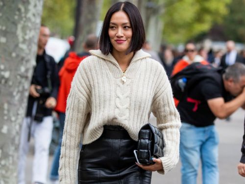 4 Ways to Pull Off Leather Skirts Like It Ain't No Thing