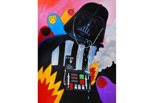 Artist Ricardo Cavolo Reimagines Childhood Heroes in Latest Paintings