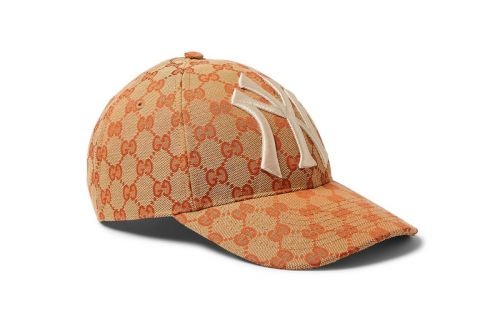Gucci Releases a GG Monogram Print NY Yankees Cap