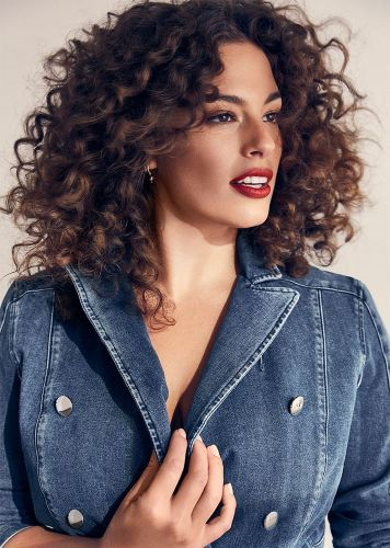 Ashley Graham's Unexpected Hairstyle is the Best Part of This Denim Campaign