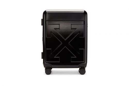 """Off-White™ Releases Arrows Suitcases Destined """"FOR TRAVEL"""""""