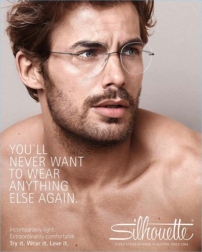 Jacey Elthalion Dons Smart Frames for Silhouette Campaign