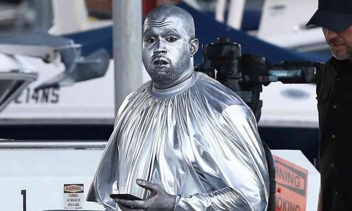 The best Twitter reactions to Kanye West's bizarre silver opera ensemble