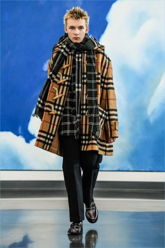 Gosha Rubchinskiy Reunites with Burberry for Fall '18 Collaboration