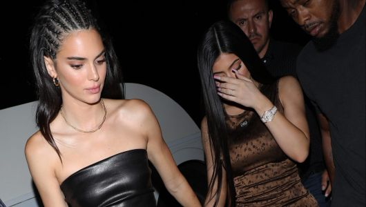 Yas! Kendall Jenner Slays in an All Leather Look During a Sisters Night Out With Kylie Jenner