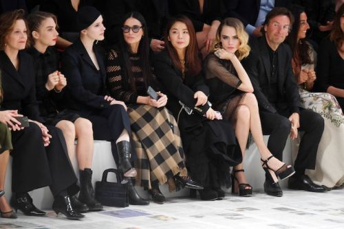The Dior Paris Fashion Week Show Front Row Is So Good, I Can't Breathe