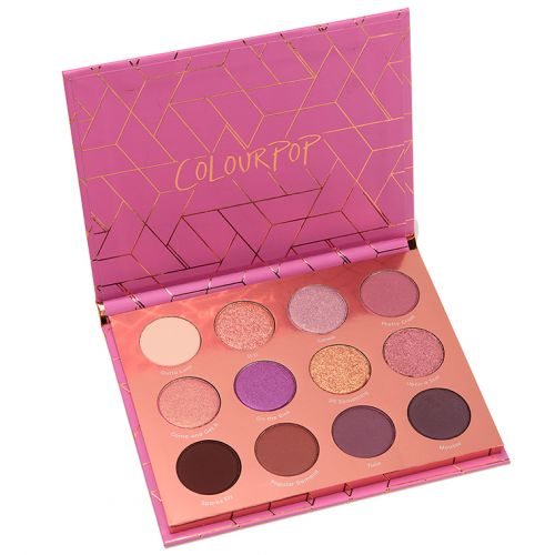 ColourPop Sweet Nothings Pressed Powder Shadow Palette Review & Swatches