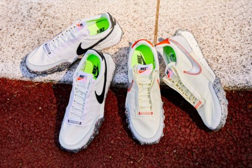"""A Closer Look at Nike's Waffle Racer Crater """"Photon Dust"""" and """"Pale Ivory"""""""