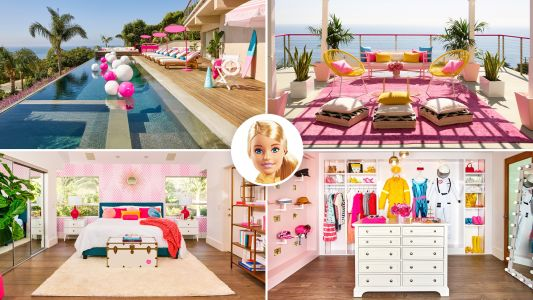 Grab Ken and Skipper Because Barbie's Malibu Dreamhouse Is on Airbnb and It's Seriously Spectacular