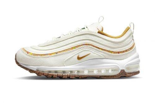 """Nike's New Air Max 97 """"Cork"""" Is Colored In """"Coconut Milk"""""""