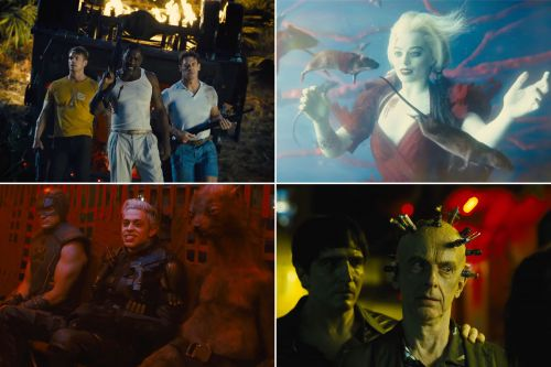 New trailer for 'The Suicide Squad' features giant starfish-like alien