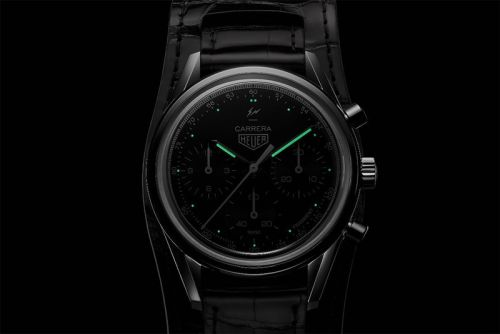 Fragment design Unveils Upcoming TAG Heuer Collab