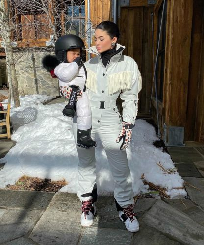 Stormi Webster Goes Snowboarding for the First Time and She's Already a Pro at Just 22 Months!