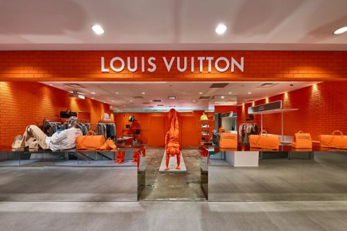 Inside Dover Street Market Ginza's Louis Vuitton FW19 Pop-Up