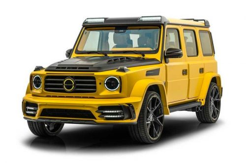"""Mansory Gives Its Gronos Mercedes-AMG G63 the """"Bumblebee"""" Treatment"""