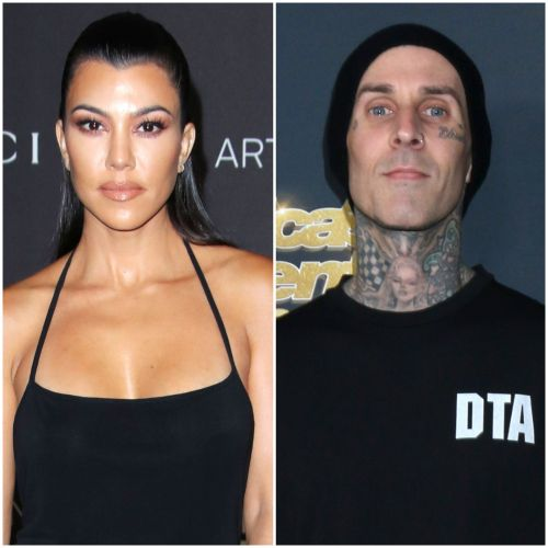 Kourtney Kardashian's New Flame Travis Barker Is 'Amazing' With Her Kids: 'They've Welcomed Him'