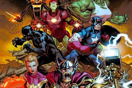 Marvel Is Set to Relaunch 'Avengers' Comic Book With Several Infinity War Characters