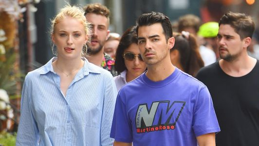 Sophie Turner and Joe Jonas Walking Hand in Hand in SoHo is Total RelationshipGoals