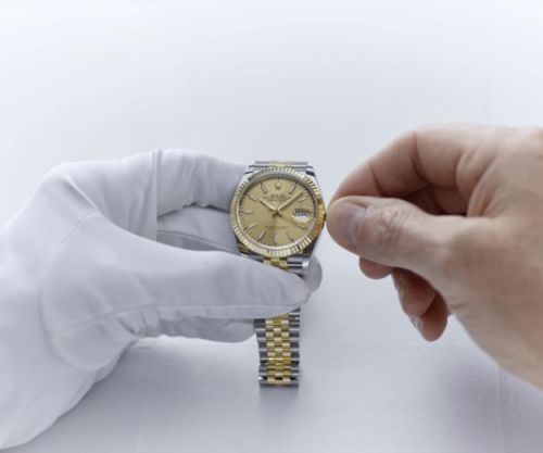 In Perpetuity: Rolex World Service