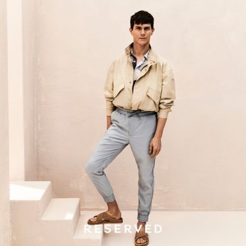 Vincent Lacrocq Goes Summer Casual in Reserved