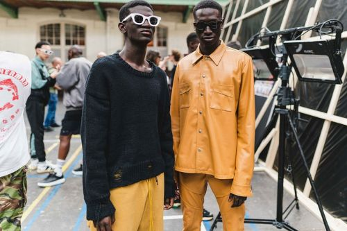 Backstage at RHUDE's First-Ever Paris Fashion Week Show