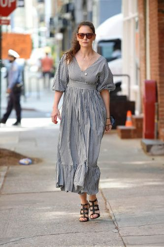 Katie Holmes' Summer Dress Is On-Trend & It's Still Available