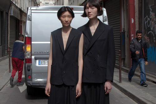 SULVAM SS20 Explores Androgynous Styling and Gender-Fluid Garments