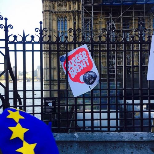 An estimated 700,000 people marched for a public vote on the Brexit deal