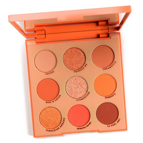 ColourPop Orange You Glad Palette Makeup Look Ideas